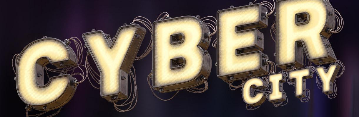 Cyber font presentation