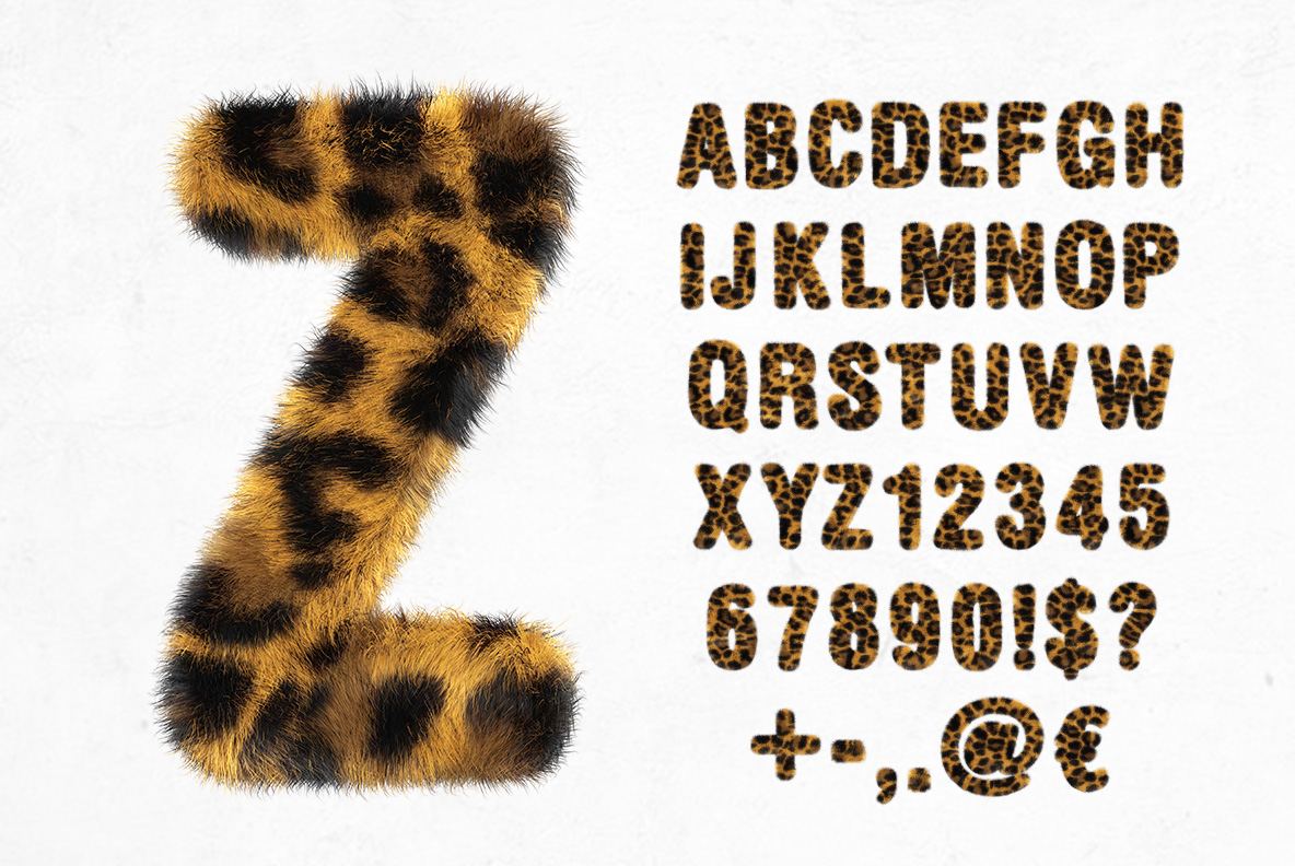 Leopard OpenType Font