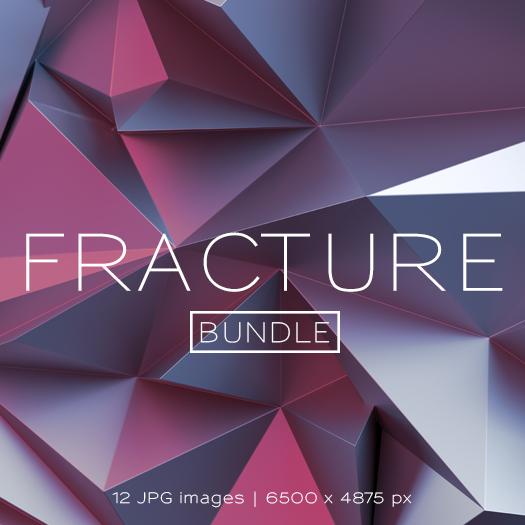 Fracture Bundle Font