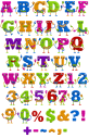 ABC Character funny Font