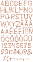 Bacon food Font