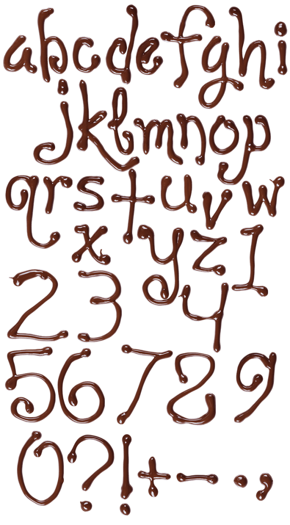 Chocolate sweet Font