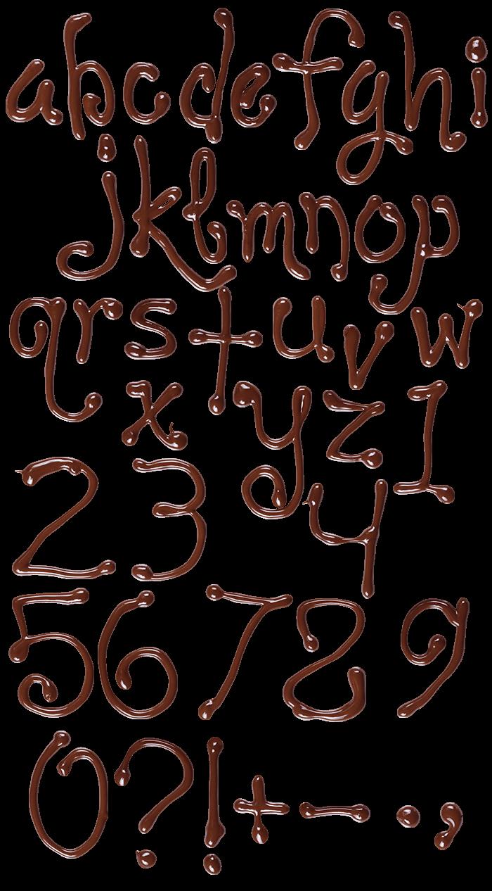 Chocolate sweet Font