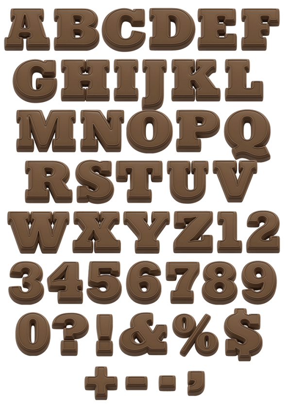 Chocolate Present sweet Font