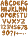 Christmas Cookie food Font
