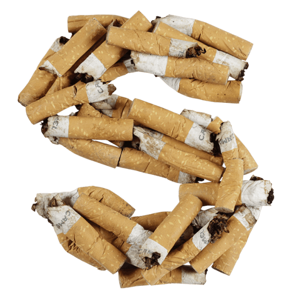 Cigarette Butt Font