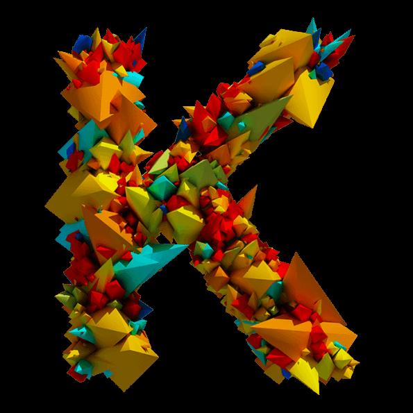 Color Explode Font
