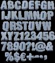 Fun Textile handmade Font l
