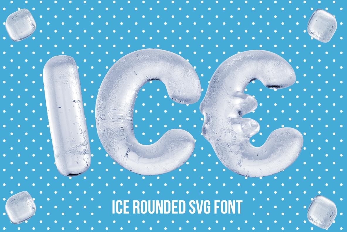 Ice Round Font OpenType SVG
