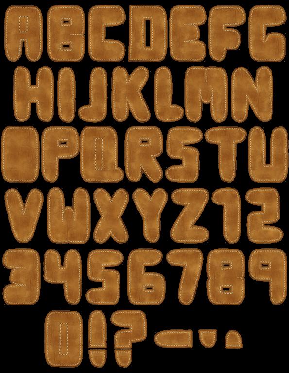 Leathers retro Font