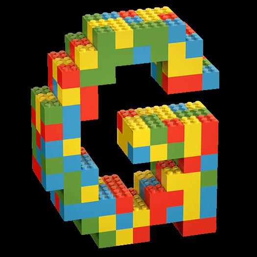 Lego Random Color Font