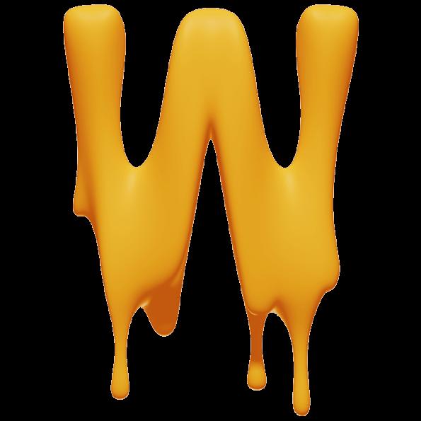 Melting Font
