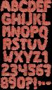 Mincemeat food Font