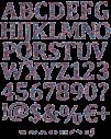 Molecule line Font