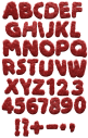 Monster Hair red Font