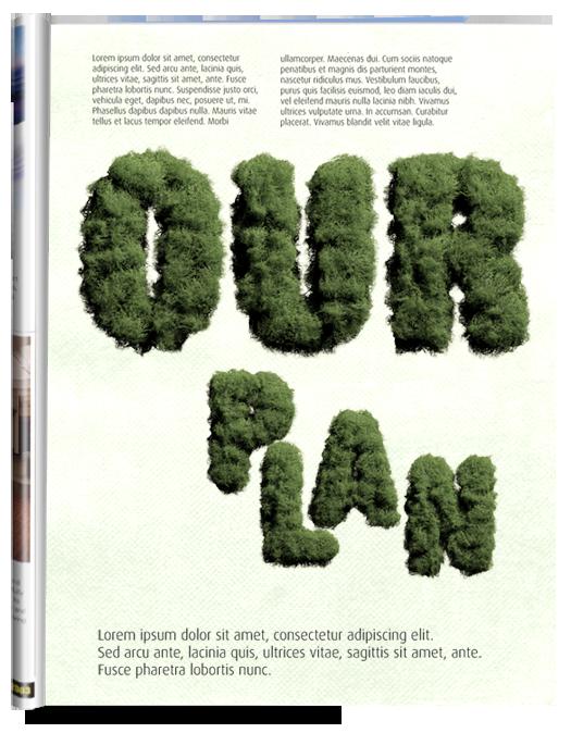 Moss green Font