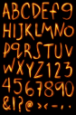 Nightfire smoke Font