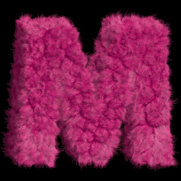 Pink Fur Font