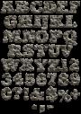 Rock stone Font