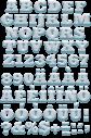 Snowball white Font