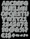 Stone Dust gray Font