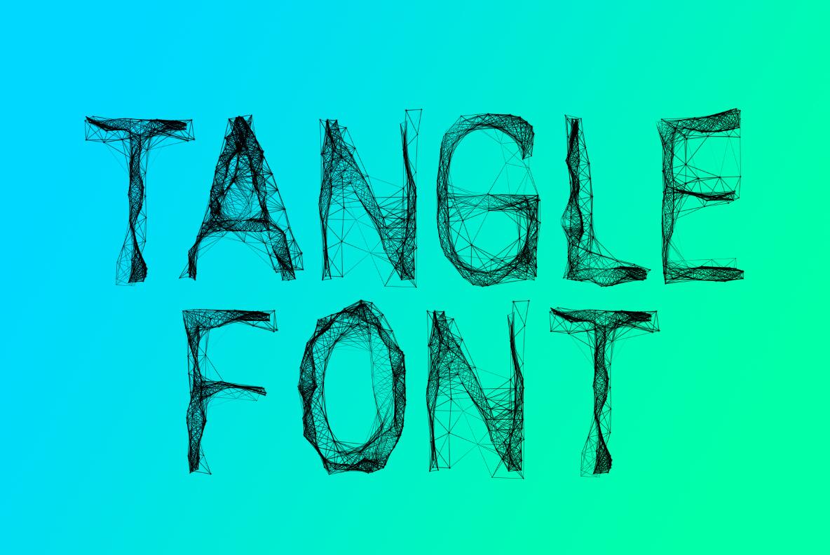 Tangle OpenType Font SVG