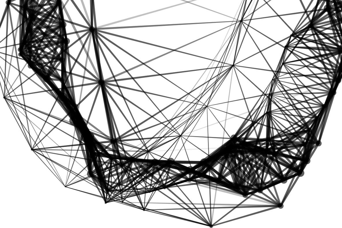 Tangle OpenType Font SVG closeup
