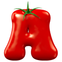 Tomato Red Font