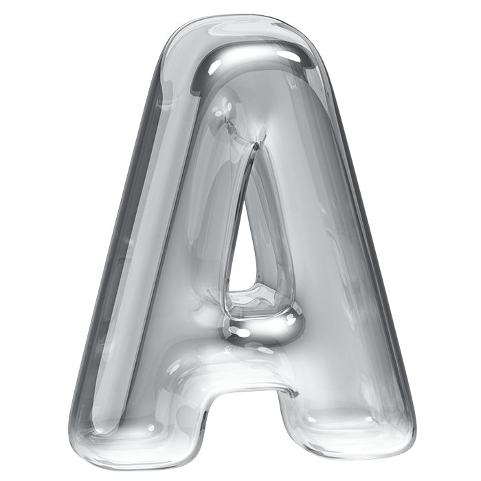 Transparency Font