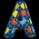Color Textile Font