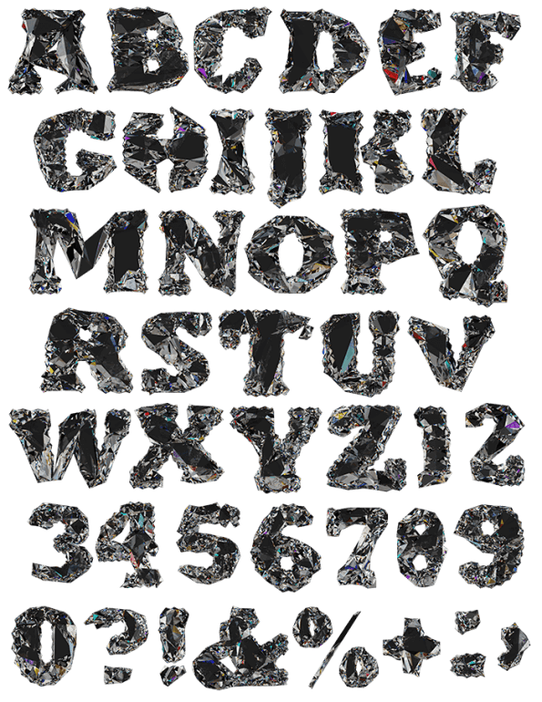 Diamo brilliant Font