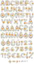Eggs food Font