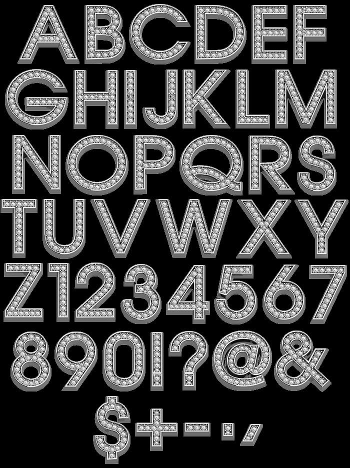 Glam brilliant Font