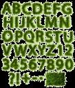Grass green Font