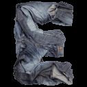 Jeans Dark Blue Font