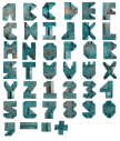 Old Copper rust Font