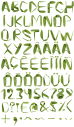 Reed grow Font