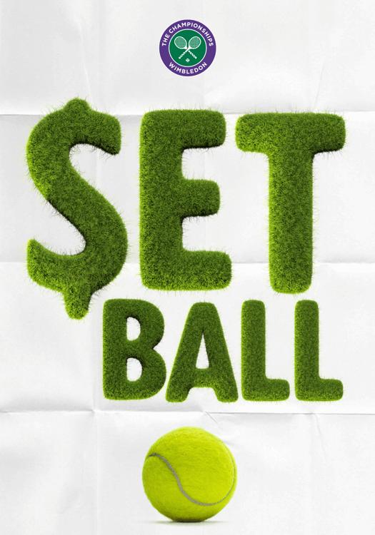 Tennis Grass Ball Font