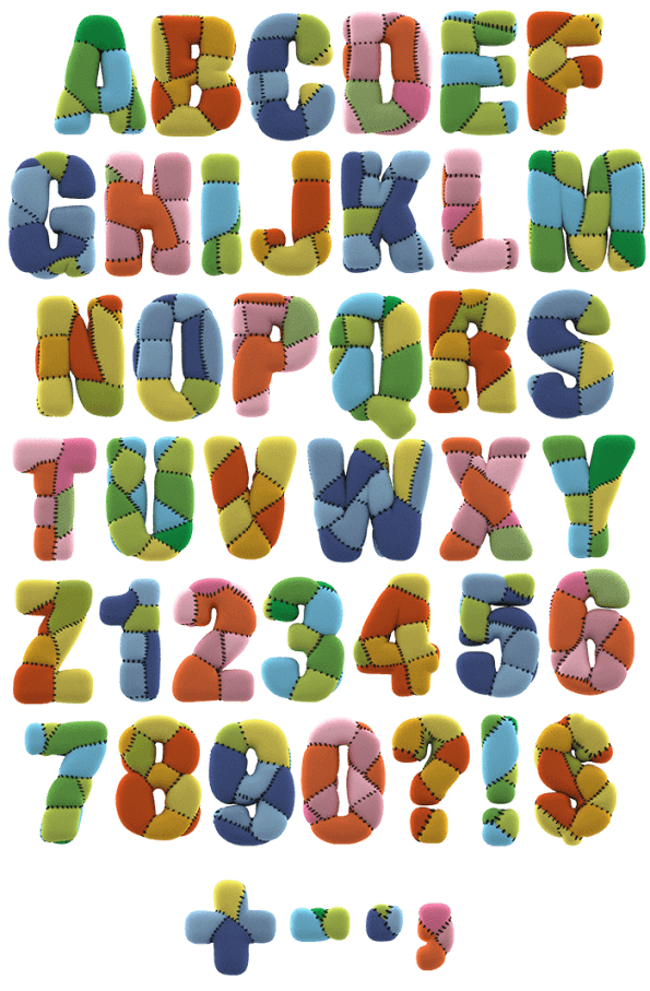 Toy children Font