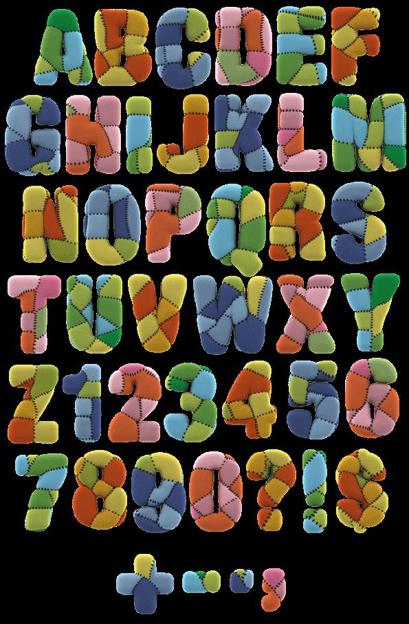 Toy children Font