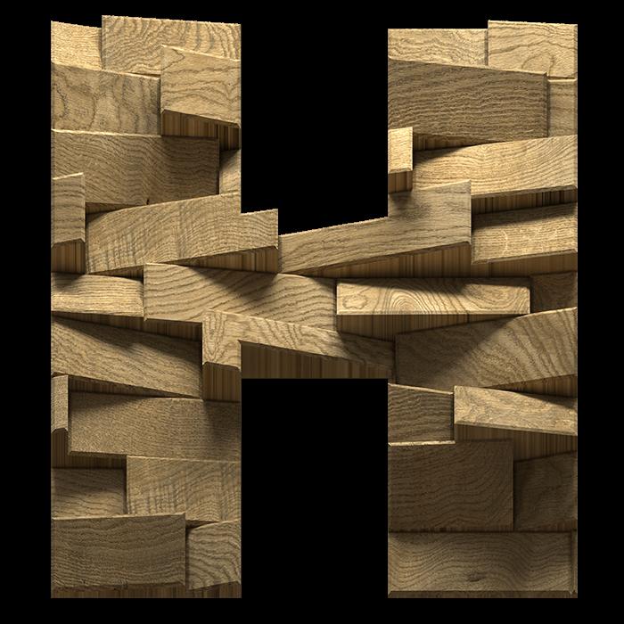 Abstract Blocks Font