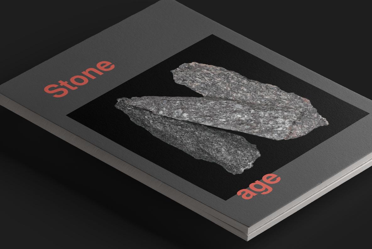 Black Granite OpenType SVG Font cover