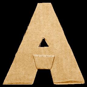 Cardboard Cut Font