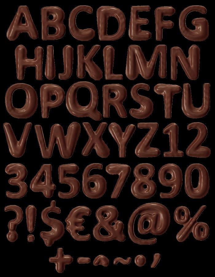 Choco Melt sweet Font