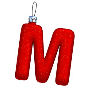 Christmas Red Font