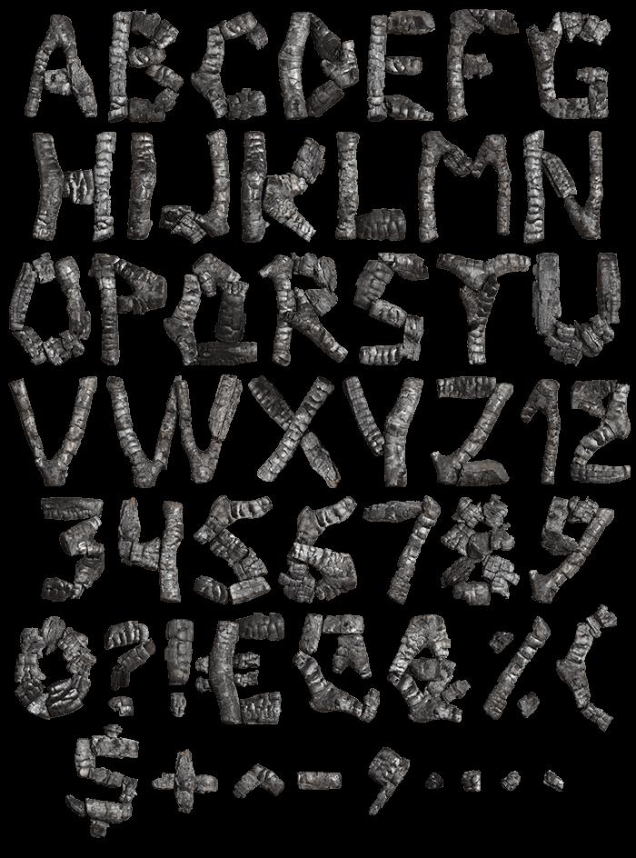 Coal dark Font