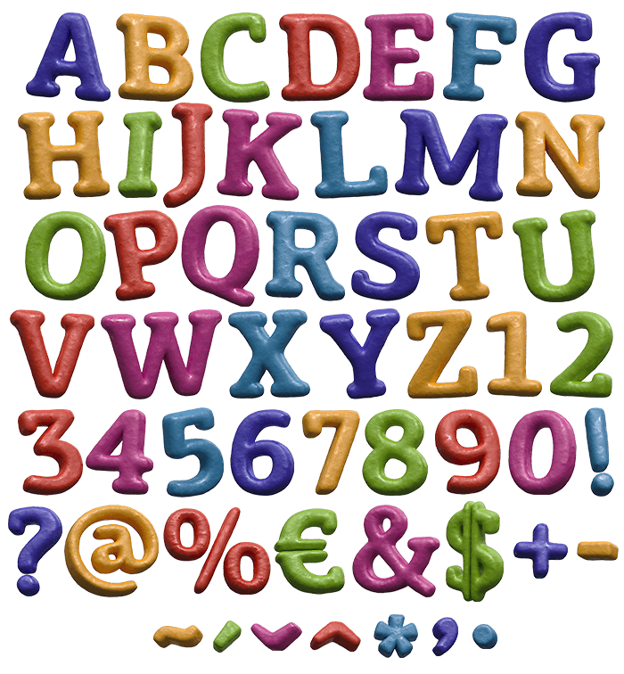 Color Game funny Font