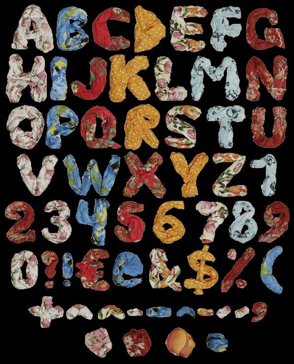 Color Shawls bright Font