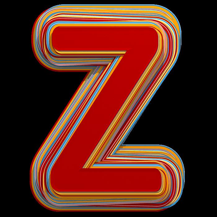 Color Stripes Font