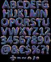 Colorama rainbow Font